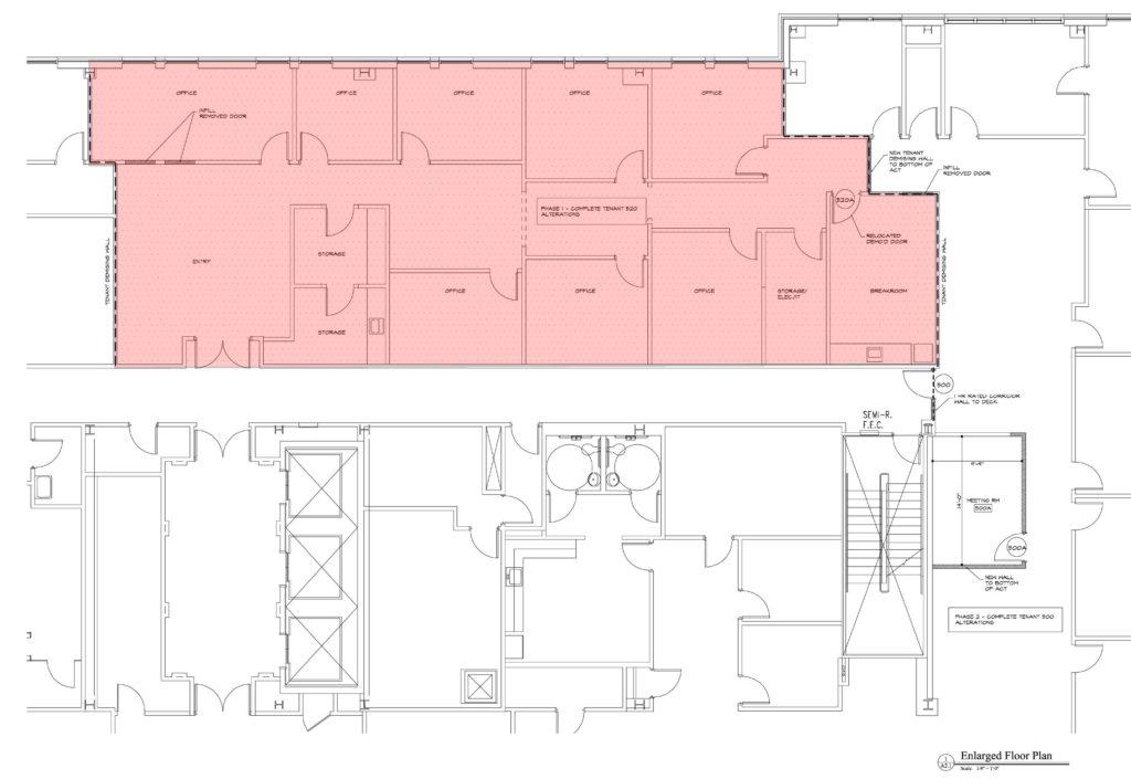 Suite 520 Floor Plan - ±3,151 SF - Image