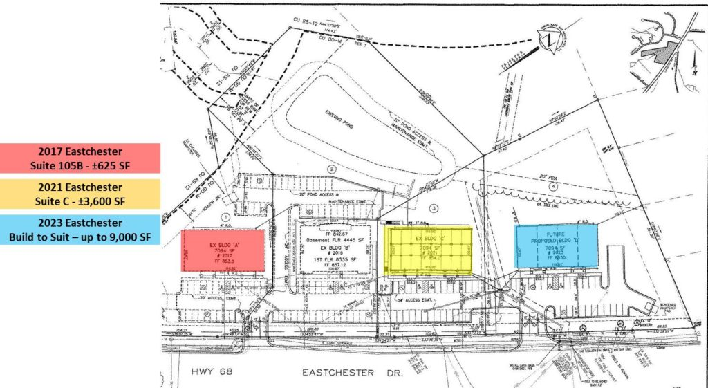 2023 Eastchester Drive, High Point - Site Plan - Image