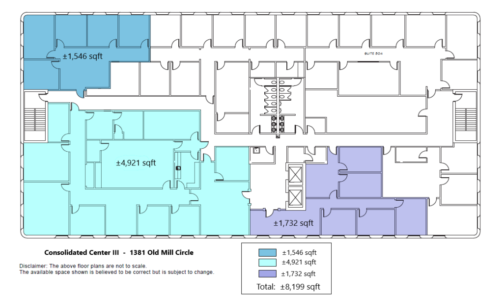 Floor Plan of Available Space - Image