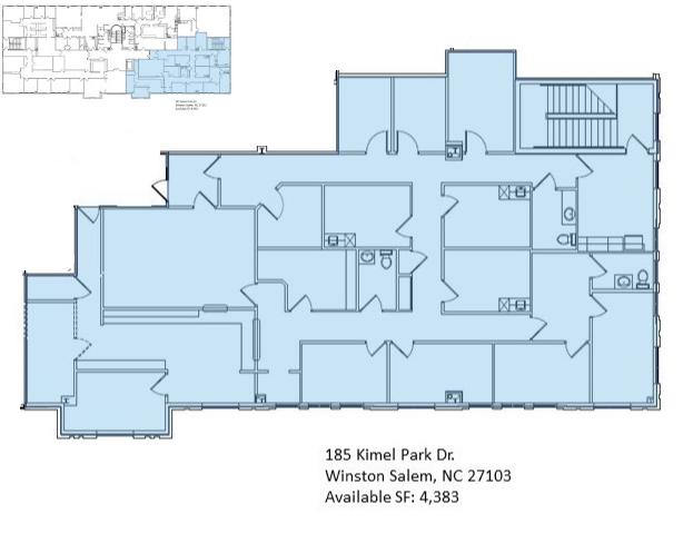 185 Kimel Park Dr., Suite 201 - Floor Plan - Image