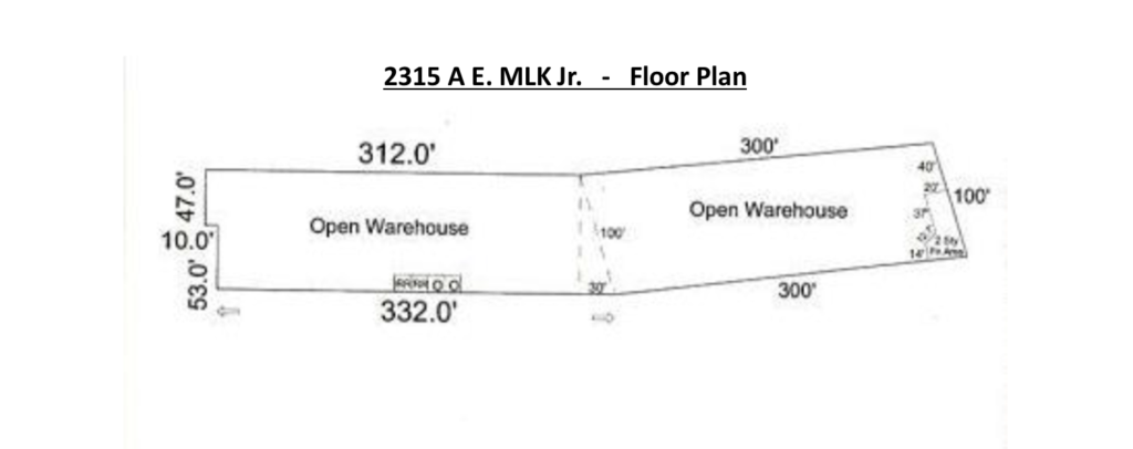 2315-A E MLK Drive, High Point, NC - Floor Plan - Image