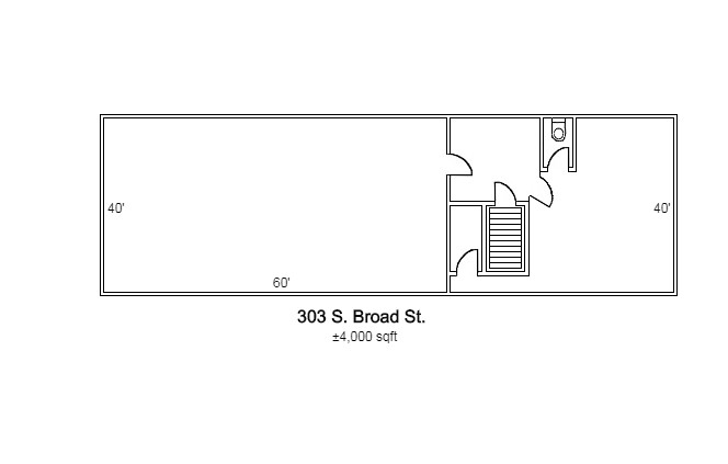 303 S. Broad St Office - Interior Space - Image