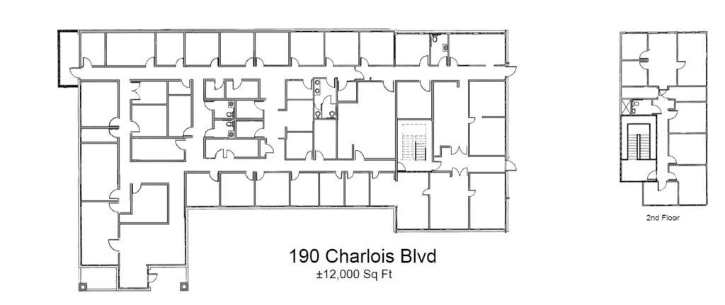 190 Charlois Blvd. Floor Plan - Image
