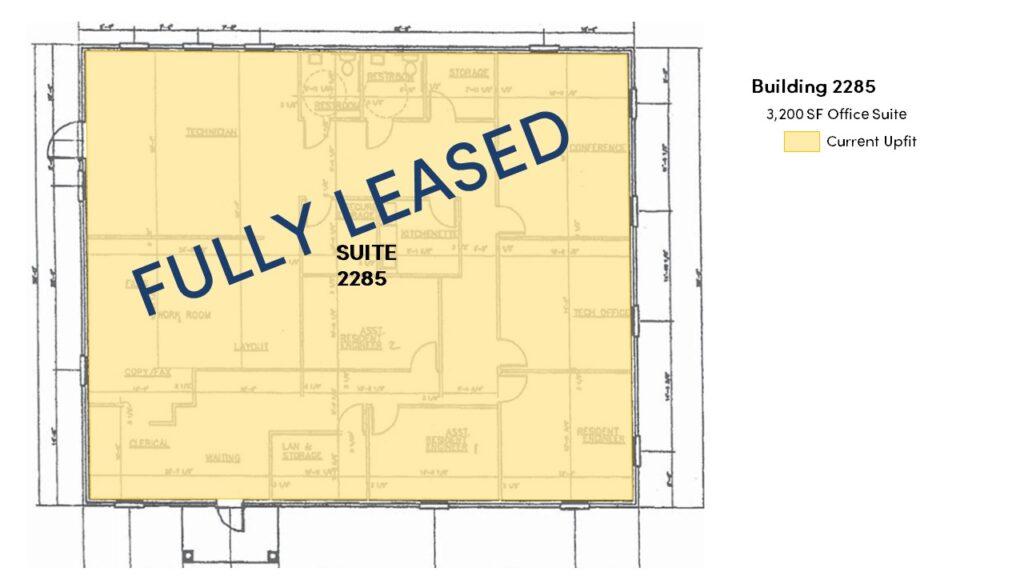 2245-2290 Premier Park Lane - Building 2285 Floor Plan - Image