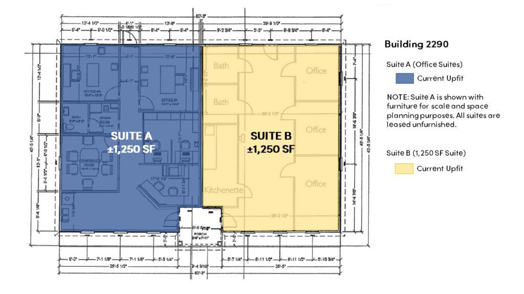 2245-2290 Premier Park Lane - Building 2290 Floor Plan - Image