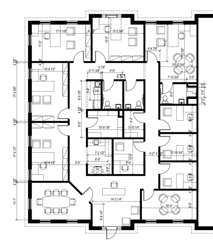 Suite 110 Floor Plan - Image